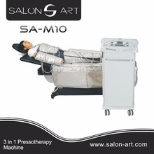 SA-M10 far infrared electro stimulate slimming pants body shaper pressotherapy machine