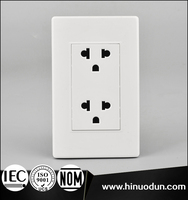 118B-07 15A125V IEC Certificater Multiple Multi Pin Plug Sockets