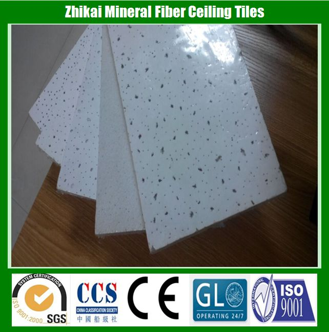 60*60 Mobile home Acoustic insulation ceiling panel (mineral fiber material)