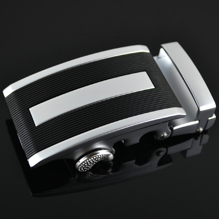 new arrival cowhide leather belt buckle automatic buckle for men
