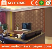 home interior vinyl coated wallpaper raw material
