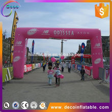 2017 Hot sale inflatable arch, inflatable finish line for events