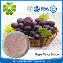 Natural grape flavor fruit juice concentrate powder