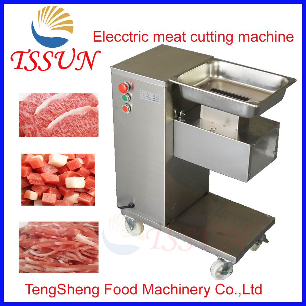High quality stainless steel meat cutting machine/ beef slicer machine