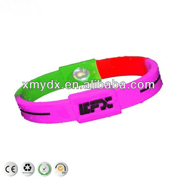 Custom Ion Power Silicone Energy Bracelet Balance