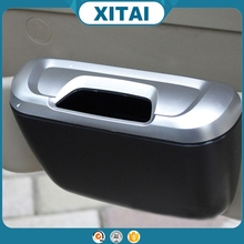 Hot sale XITAI car accessories traveling portable car trash can black collapsible pop up leak proof trash can art.-no.c153