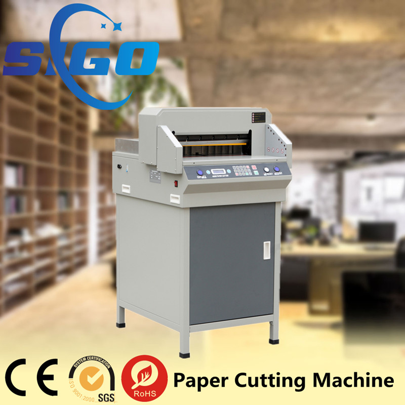 Program Paper Cutter/guillotine/Paper cutting machine