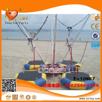 Hot sale kids inflatable trampoline,equipment commercial trampoline