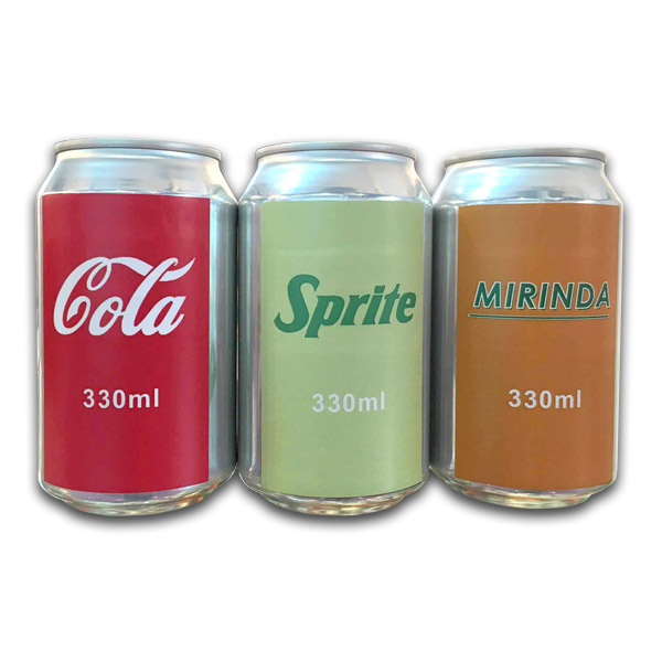 Private Label Cola, Sprite, Fanta, Mirinda 330ml