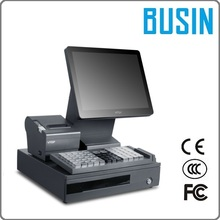"BUSIN 15"" KD5-M8+ Computer Cash Register Systems with 80 mm Printer"