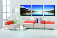 beautifu multi-panel water scenery canvas print
