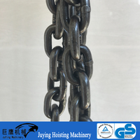 Black color g80 alloy steel drop forged chain