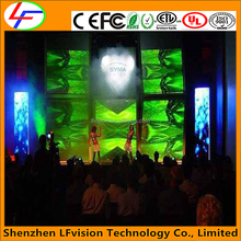 IP31 Indoor Large P3P4 HD LED Display Screen For Audio Vision Rental Market