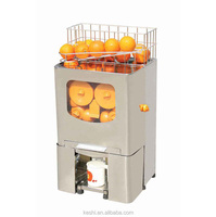 counter type juicer with pulp with small capacity ice tank