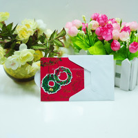 Wholesale/retail stock of 16pcs in a PET box Christmas gift card