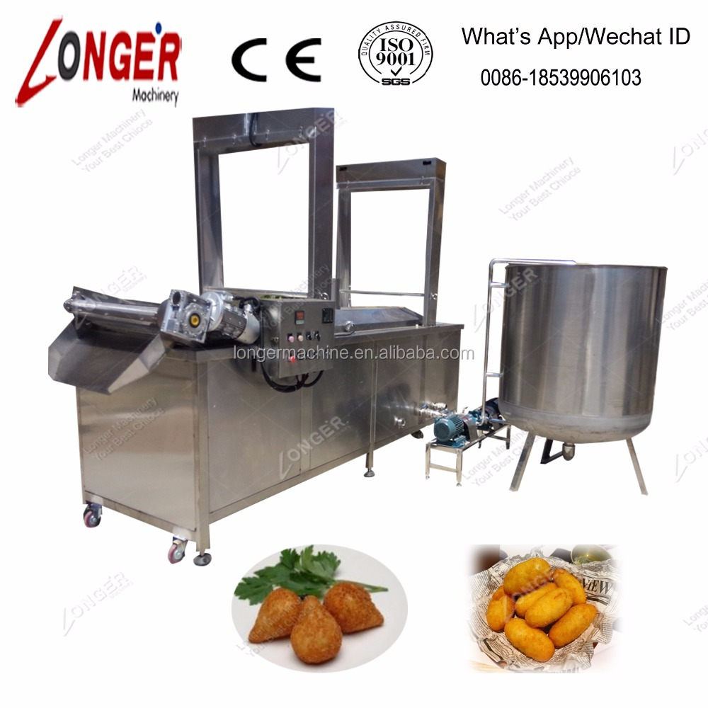 Vegetable Croquette Frying Machine/Croquette machine