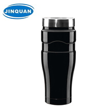Eco-friendly stainless steel travel mug with handle