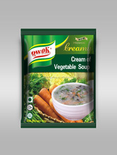 Soup , cream of vegetable soup powder
