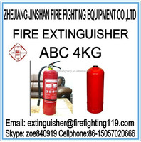 4kg ABC dry powder fire extinguisher or accessories(hose,valve,gauge cyclinder,agent ect)