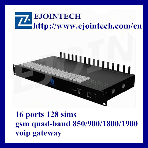 New arrivel 12 months warranty ejoin 16 port gsm voip online payment gateway with imei change