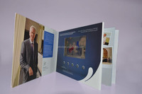 hot lcd video greeting card presentation