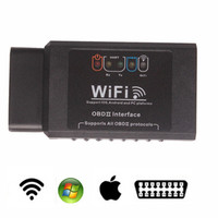 Wifi ELM327 OBD OBDII OBD2 /Wifi ELM 327 Car Diagnostic interface Tool Support Android/ IOS/PC