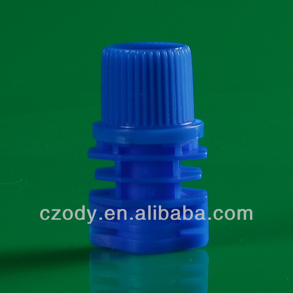 plastic containers Can be customized color spout and screw cap