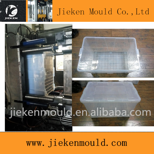 household plastic storage box&bins plastic injection mould/clothes storage