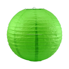 Green Paper Lanterns Ball Candy Color Chinese Paper Lanterns Wedding Party Decoration