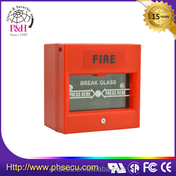 break glass manual fire call point