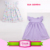 China clothing kid smocked party dressy shirt cap lavender flutter sleeve fashion frock baby girls wholesale swing tunic tops