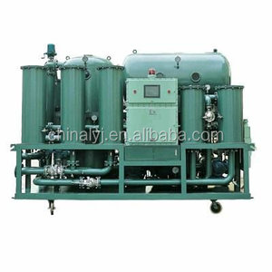 Turbine vacuum oil recycling, oil and water separation