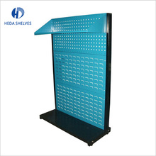 Hot sale high-end Metal Wire Counter Hardware display tool rack for hanging items