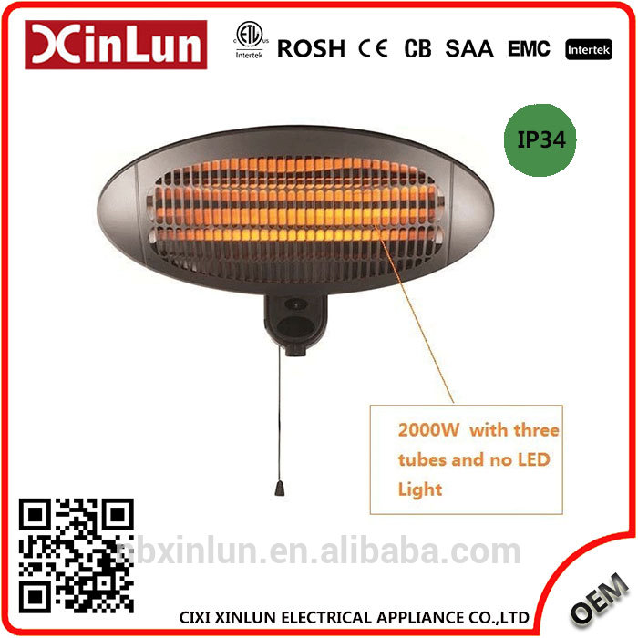 TOP10 Factory Directly ODM And OEM Customized quartz infrared electric patio heaters