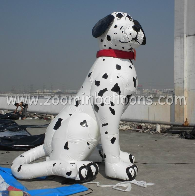 hot sale inflatable dalmatian dog air balloon for commercial N2052