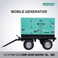 Move Diesel Generator Trailer Truck Mobile Power Generator