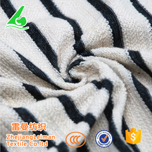2017 New blended yarn dyed stripe knitted fabric