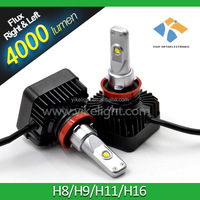 Toyota land cruiser led headlight bulb h11 4000lm