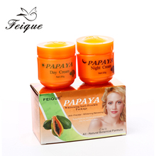 wholesale papaya whitening face cream bleaching cream for black skin Support OEM&ODM