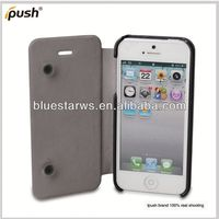 2013 new hot selling wallet design pu leather cell phone cover for iphone5 fashion design wrist case