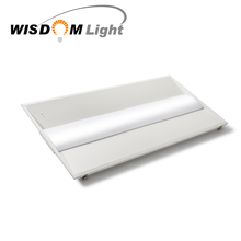 2018 new indoor led lighting 40 watt LED recessed ceiling light fixture with emergency light and motion sensor