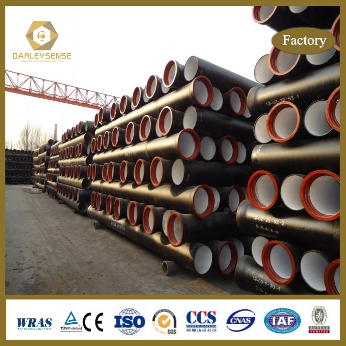 Best Selling Quality 250mm ductile iron pipe With the Best Quality