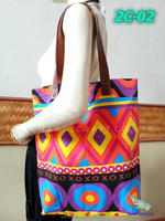 Cotton canvas screen printed tote bag.
