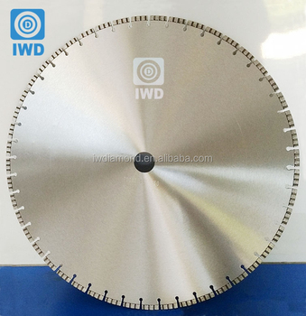 "32 36 Inch 36"" 600mm 800mm Big Large Diameter Deep Cut Circular Concrete Walk Behind Diamond Saw Blade For Concrete Cutting"