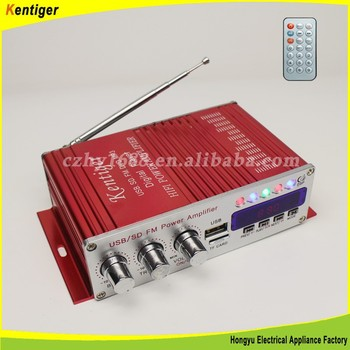High Quality mosfet car audio amplifier