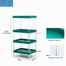 Alibaba store China supplier high quality plastic advertising display stand