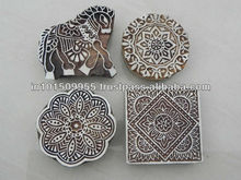 Indian handmade blocks/wooden printing block buy at best prices on india arts palace