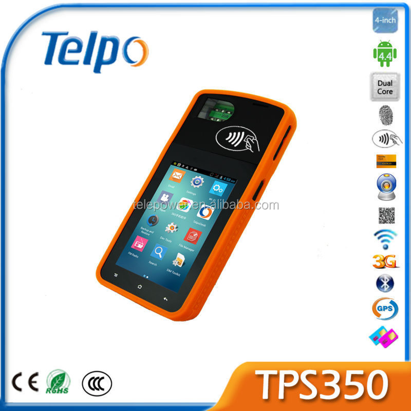 Telepower TPS350 Android All In One POS System POS Terminal for Lottery POS Terminal with Nar Code Scanner