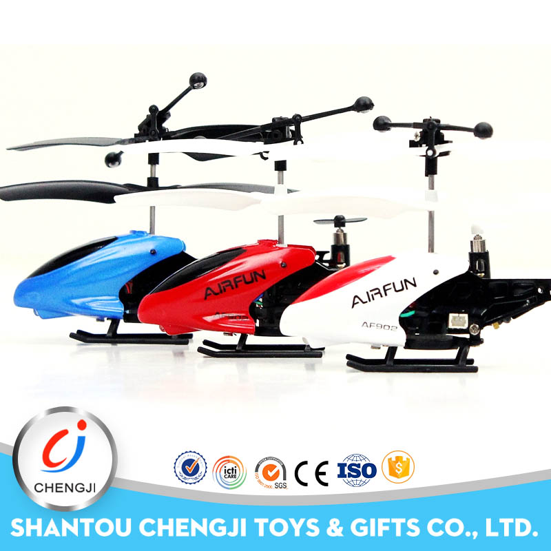 Hot Selling New Arrival small size 3.5ch model rc toy alloy helicopter with Gyro