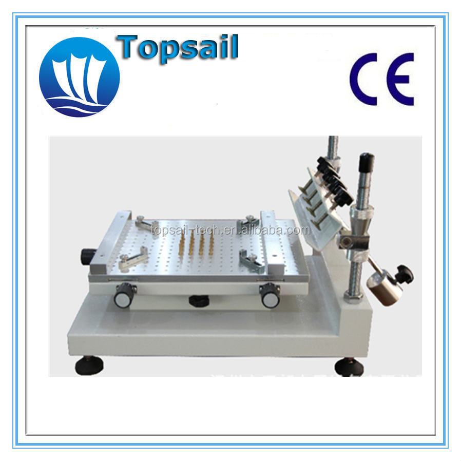 Top quality TP-3040H mini stencil printer manual stencil printer
